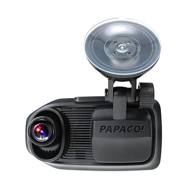 PAPAGO GoSafe 760 Dual Lens Dash Camera with Bonus 32GB Micro SD Card (GS76032G)