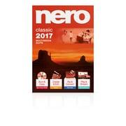 Nero – Logiciel multimédia Classic 2017, bilingue, 1 utilisateur