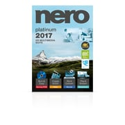 Nero 2017 Platinum HD Multimedia Suite, Bilingual, 1-User