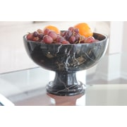Marble Products International King Pedestal Marble Serving Bowl
