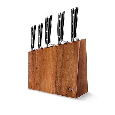 Cangshan S Series 6-Piece German Steel knife Block Set