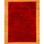 Natural Area Rugs Red Area Rug; 8' x 10'