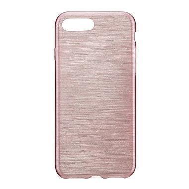 Blu Element – Étui protecteur TPU brossé pour iPhone 8 Plus/7 Plus, or rose (BBTI7PRG)