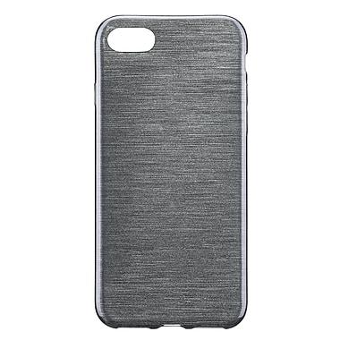 Blu Element – Étui protecteur TPU brossé pour iPhone 8/7 Plus, noir (BBTI7BK)