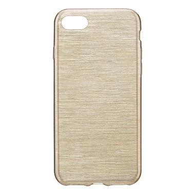 Blu Element – Étui protecteur TPU brossé pour iPhone 8/7 Plus, or (BBTI7GD)