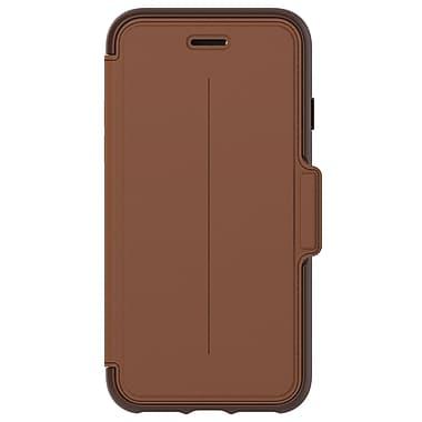 OtterBox – Étui portefeuille Strada pour iPhone 7, selle brûlée (7753973)