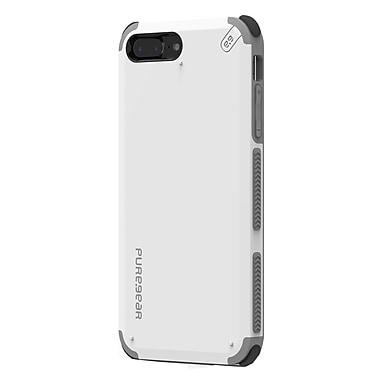 Puregear – Étui Slim Shell Pro pour iPhone 8 Plus/7 Plus , blanc arctique (61597PG)