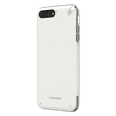 PureGear - Étui DualTek Pro pour iPhone 7 Plus, blanc/transparent (61599PG)