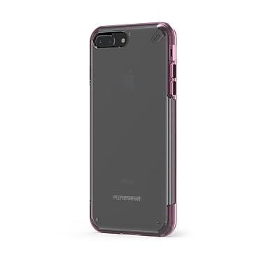 Puregear – Étui Slim Shell Pro pour iPhone 7 Plus, transparent/rose (61595PG)