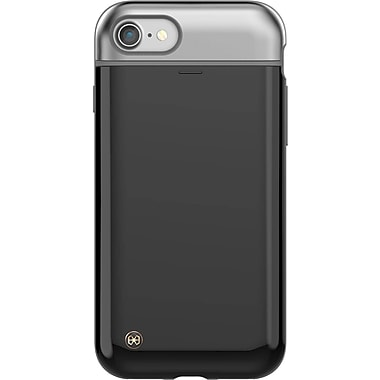 STI:L – Étui Mystic Pebble pour iPhone 8/7, noir (SB2AIHP02MZBK)
