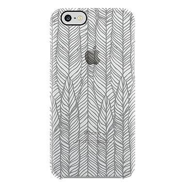 Uncommon – Étui Deflector pour iPhone 7 à motif de plumes, gris (C2004AM)