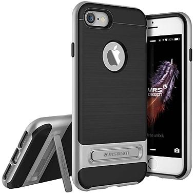 Vrs Design – Étui High Pro Shield pour iPhone 7, argent satiné (VRIP7HPSSS)