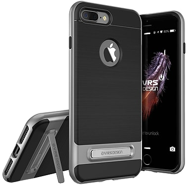 Vrs Design – Étui High Pro Shield pour iPhone 7 Plus, acier argenté (VRIP7PHPSDS)