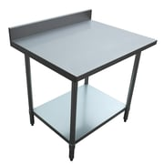 "Excalibur Commercial Stainless Steel Table, 36"" x 30"" x 34"""