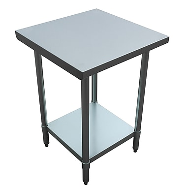 Excalibur Commercial Stainless Steel Utility Table (ET184F2424G)
