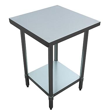 Excalibur - Table commerciale tout usage, acier inoxydable (ET184F2424G)