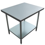 "Excalibur Commercial Stainless Steel Table, 36"" x 30"" x 34"" (ET184F3036G)"