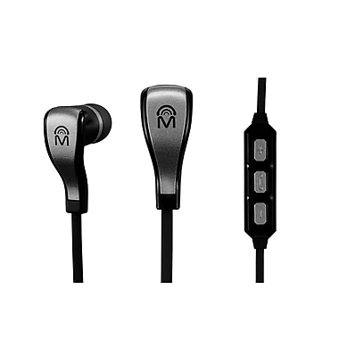 Mental Beats Flex Wireless Bluetooth Earbuds with Mic, Black (83533)