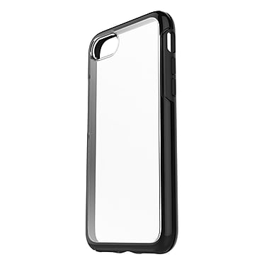 OtterBox Symmetry Case for iPhone 7, Clear/Black (77-53952)