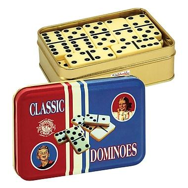 Classic Dominoes - in Tin