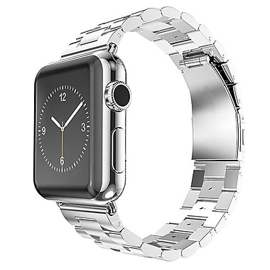 iPM Stainless Steel Metal Replacement Link Strap For Apple Watch AWLS1-38-Silver (AWLS138SIL)