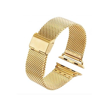 iPM Stainless Steel Mesh Milanese Loop Band for Apple Watch AWMILS002-38-Gold (AWMILS00238GLD)