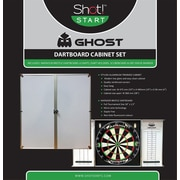 ShotDarts Ghost Dartboard Cabinet Set