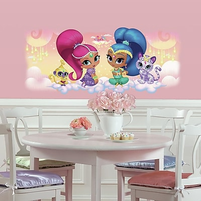 Room Mates Shimmer and Shine Burst Giant Wall Decal WYF078279507628