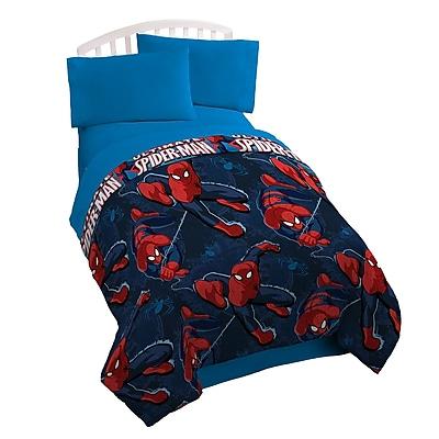 Marvel Spider-Man Spider Leap Twin Sheet Set WYF078279522666