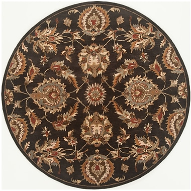 Continental Rug Company Serene Hand-Woven Black Area Rug