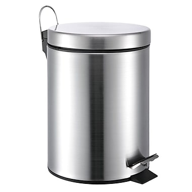 Wee's Beyond 3.5 Gal Step-On Stainless Steel Trash Can