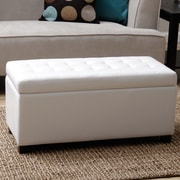Warehouse of Tiffany Malm Upholstered Storage Entryway Bench