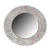 Essential Decor & Beyond Round Mosaic Mirror