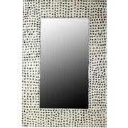 Essential Decor & Beyond Seashell on MDF Square Mirror