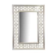 Essential Decor & Beyond Wooden Wall Mirror