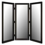 Hitchcock Butterfield Company 71'' x 69''  3 Panel Room Divider in Angle Iron Black
