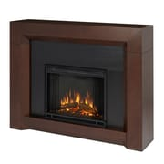 Real Flame Colton Electric Fireplace; Dark Walnut