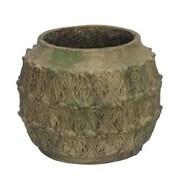 Essential Decor & Beyond Cement Pot Planter; 9.5'' H x 11'' W x 11'' D