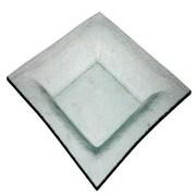 Essential Decor & Beyond Glass Decorative Plate; 9.84'' W x 9.84'' D