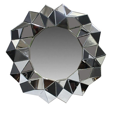 Essential Decor & Beyond Mirror w/ Polyurethane Frame