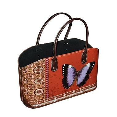 Essential Decor & Beyond Butterfly Bin w/ Handle