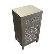 Essential Decor & Beyond 1 Door 1 Drawer Cabinet