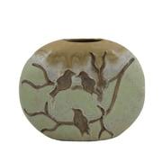 Essential Decor & Beyond Birds on Branch Ceramic Vase