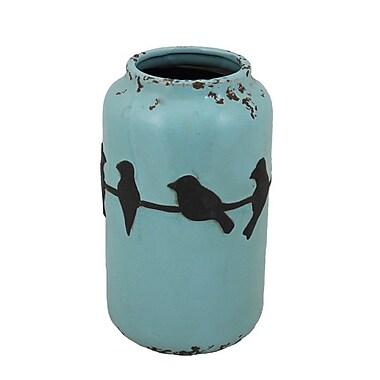 Essential Decor & Beyond Birds Ceramic Vase