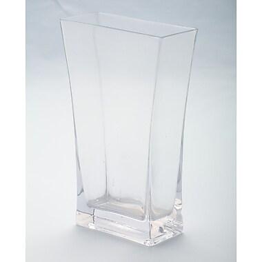 Diamond Star Glass Flared Vase