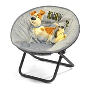 Idea Nuova Character Toddler Kids Saucer Chair in Secret Life of Pets