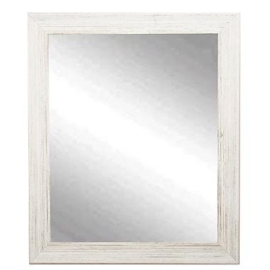 BrandtWorksLLC Coastal Wood Wall Mirror; 31.5'' H x 26.5'' W