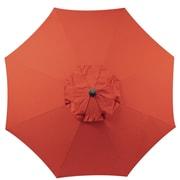 EeeTradingInternational 9' Market Umbrella; Rust