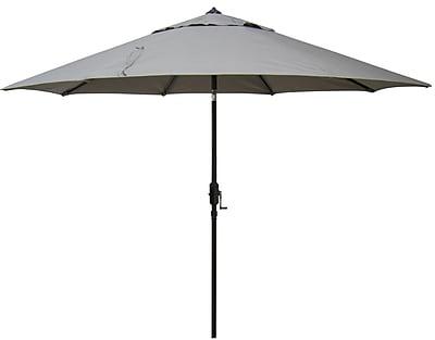 EeeTradingInternational 9' Market Umbrella; Taupe