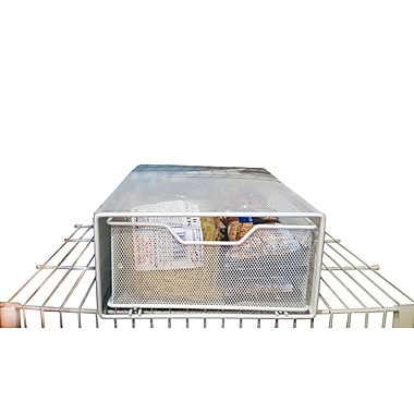 JA Marketing Pull Out Pantry Snack Basket; 6'' H x 11.75'' W x 16.75'' D